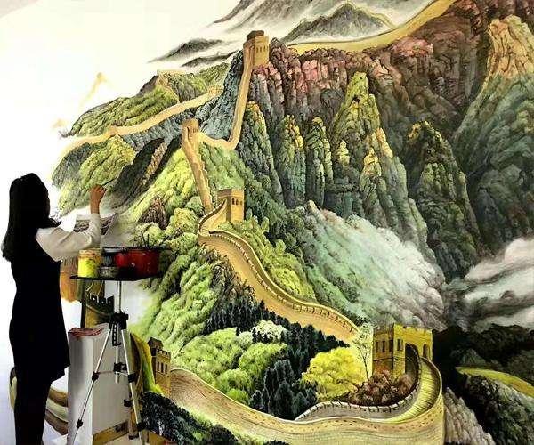 抚州墙绘,抚州手绘壁画,抚州手工绘画,抚州喷绘墙体广告